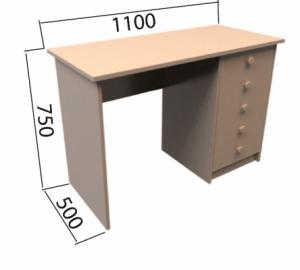 Učitelské stoly a židle
