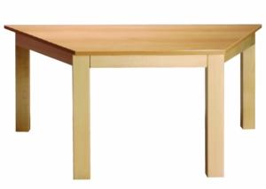 Stůl poloviční šestiúhelník