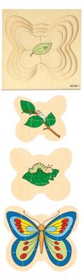 Vývojové puzzle motýl
