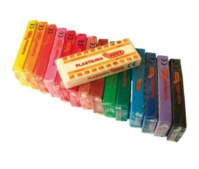 Plastelína, 15 barev, 150g