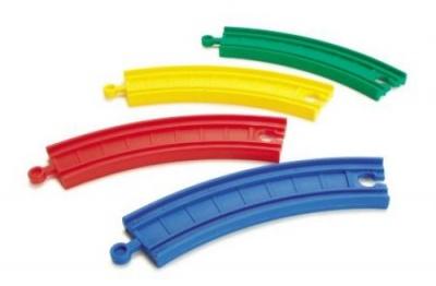 Plastové koleje obloukové