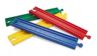 Plastové koleje rovné