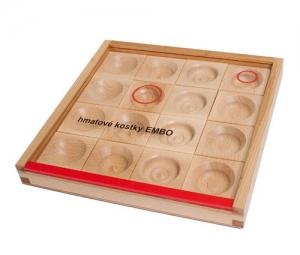 Hmatové kostky Embo
