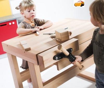Truhlářská hoblice pro děti