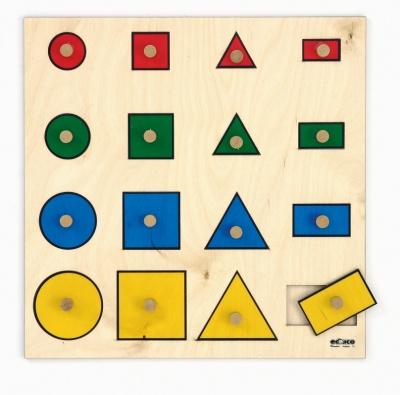 Geometrické tvary s úchopy