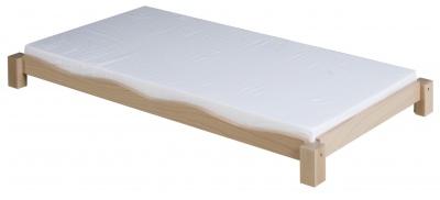 Matrace k dřevěnému lehátku 130 x 60 x 6, bílá