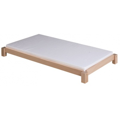 Dřevěné lehátko rovné, výška 13cm