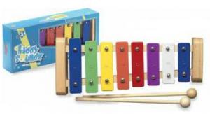 Xylofon, 8 tónů