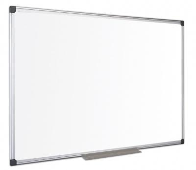Bílá magnetická tabule keramická 120x90, ALU rám