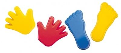 Formičky ruce, nohy - sada 4 ks
