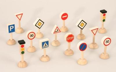 Dopravní značky - malé