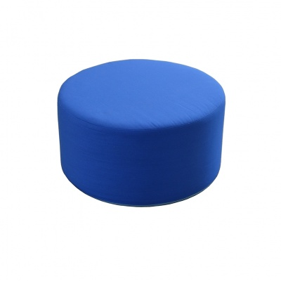 Sedátko do ordinace prům.600/v.300 mm,potah sv.modrý bez vzoru