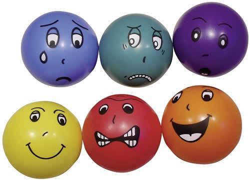 emoce-míče, sada 6ks