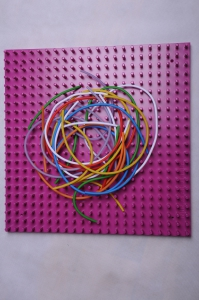 Žížalice set-žížaly + deska fialová