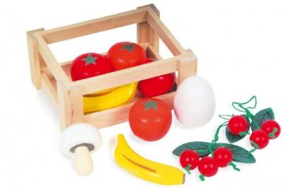 Bedýnka s ovocem a zeleninou I.