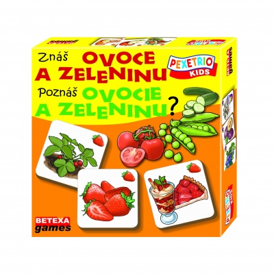 Znáš ovoce a zeleninu?