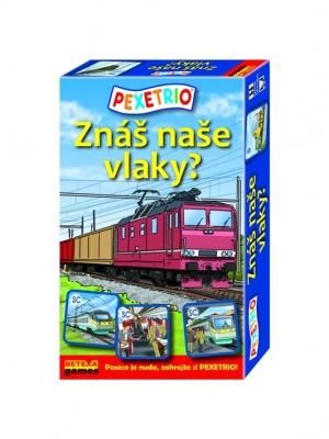Znáš naše vlaky?
