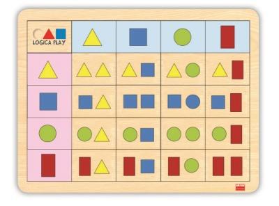 Logická hra - geometrické tvary 2