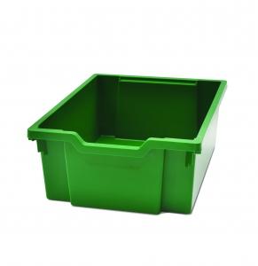 Velký kastlík z um. hmoty zelený