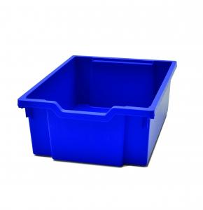 Velký kastlík z um. hmoty modrý