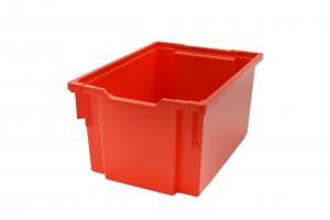 Jumbo kastlík z umělé hmoty červený