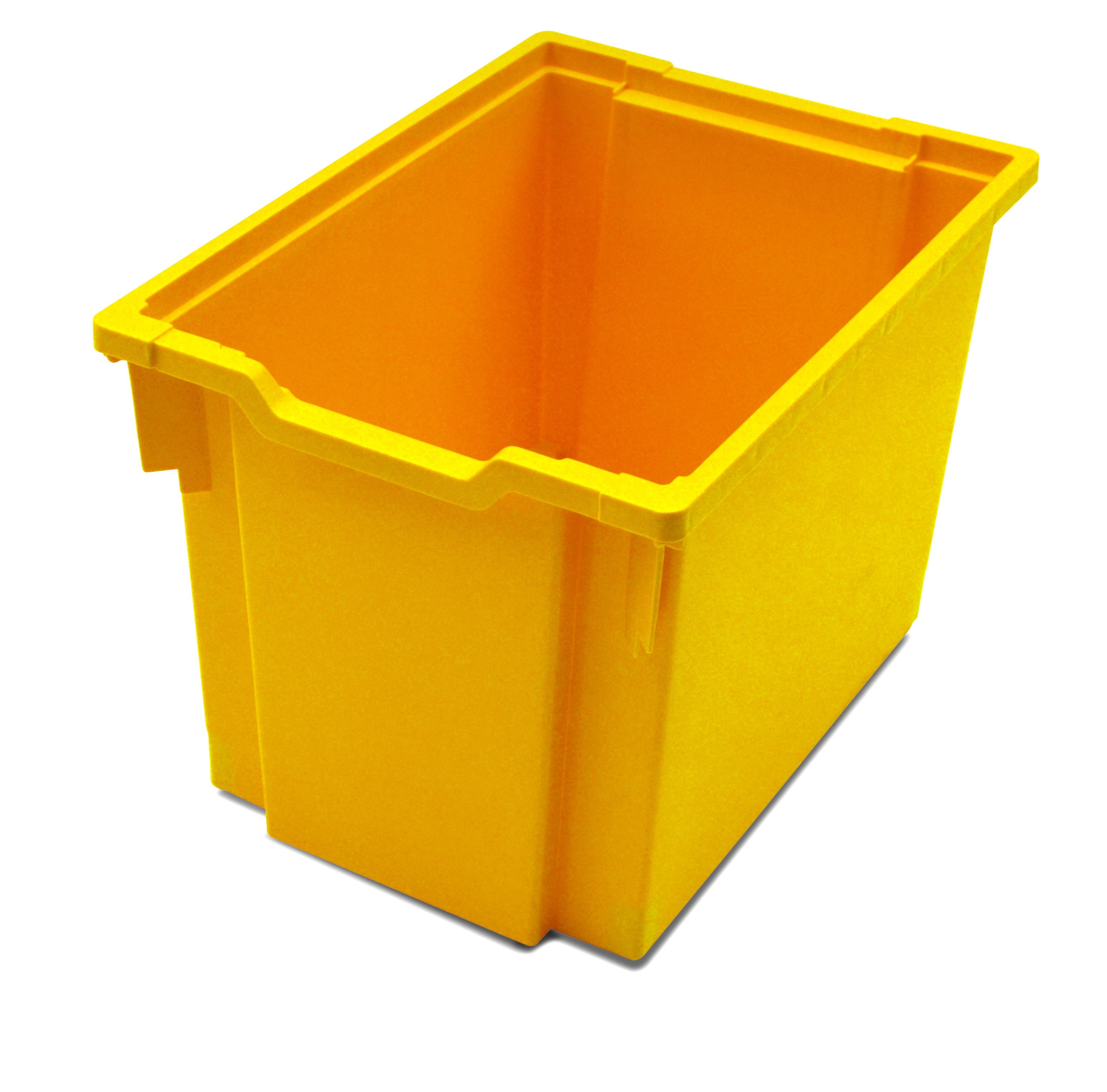 Jumbo kastlík z umělé hmoty žlutý