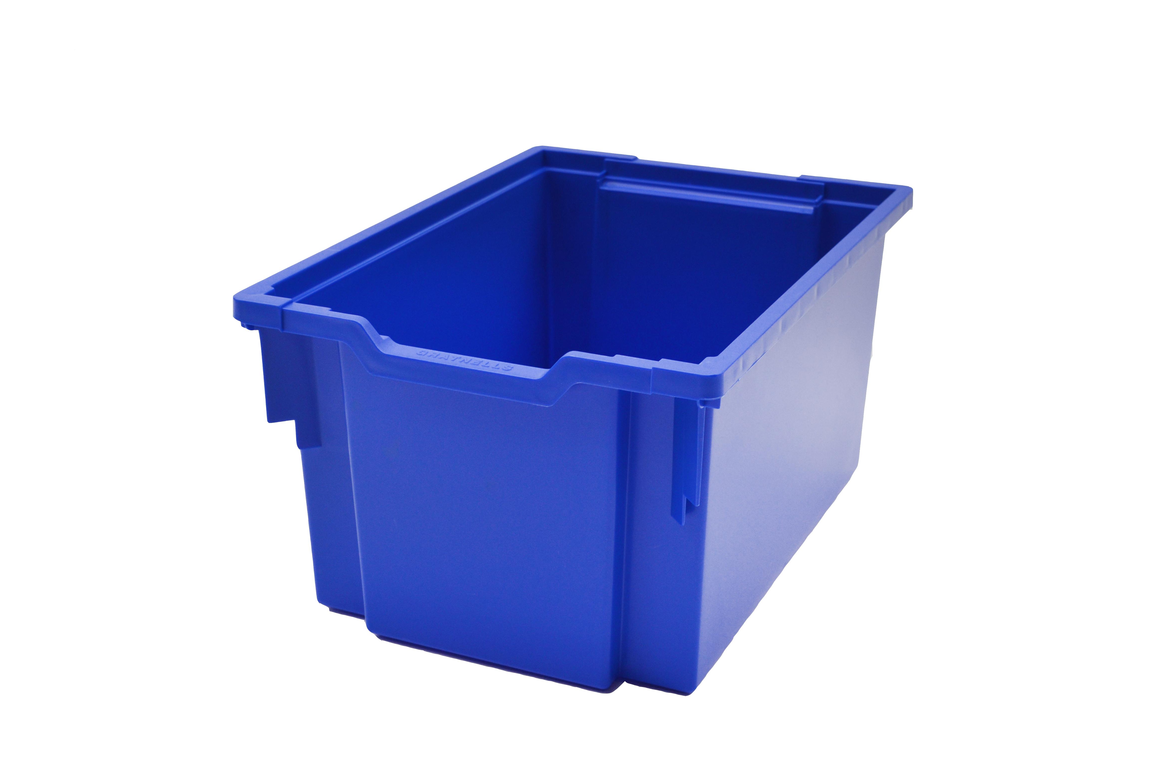 Jumbo kastlík z umělé hmoty modrý