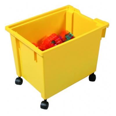 Kastlík Jumbo s kolečky žlutý