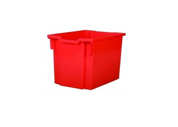Kastlík Jumbo s kolečky červený