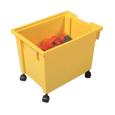 Kastlík Jumbo s kolečky oranžový