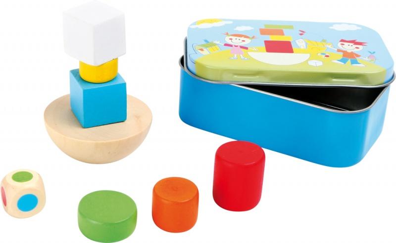 Balanční hra v krabičce