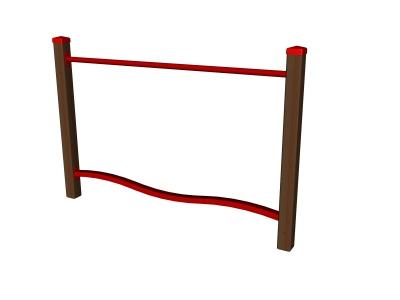 Balanční dráha - balanční vlna I