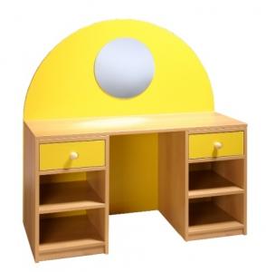 Kadeřnický stolek Lucie přírodní, buk