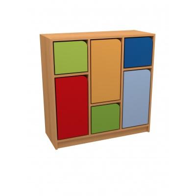 skříňka DUHA 2