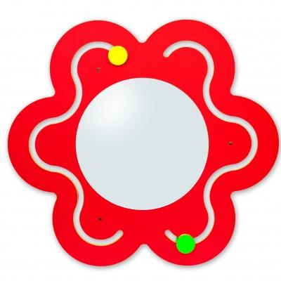 Květina se zrcadlem