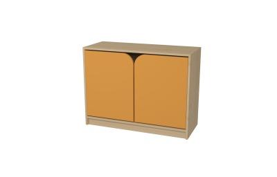 ŠAPITÓ M dvoudveřová skříňka