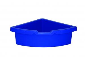 kastlík do rohu plast modrý