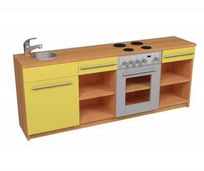 Kuchyňka LINDA barevné provedení