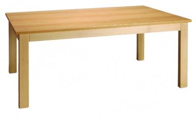 Stůl obdelníkový 120x80/64 přírodní