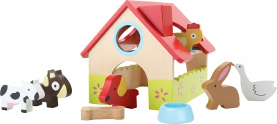 Hrací domeček - farma