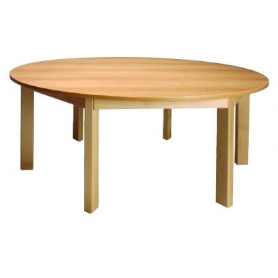 Stůl kulatý průměr 120/52 přírodní
