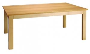 Stůl čtverec 120x120/46 přírodní