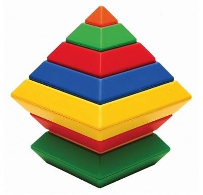 Barevná pyramida
