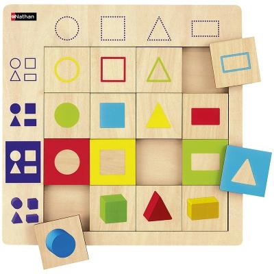 Správně přiřaď geometrické tvary