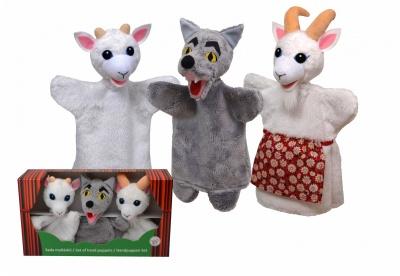 Krabička maňásků - Vlk a kůzlátka