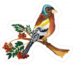 Nástěnná dekorace Pěnkava samec