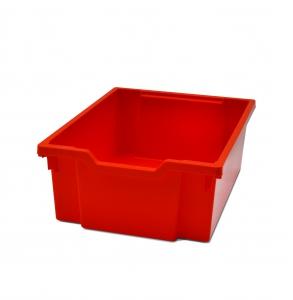 Velký kastl z um. hmoty oranž 31 x 42/v. 15 cm