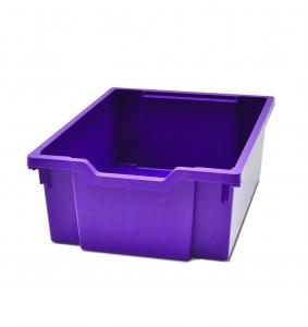 Velký kastlík z um. hmoty fialový