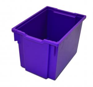 Kastlík Jumbo s kolečky fialový