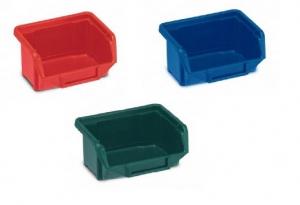 Plastový kastlík dílenský, zelený